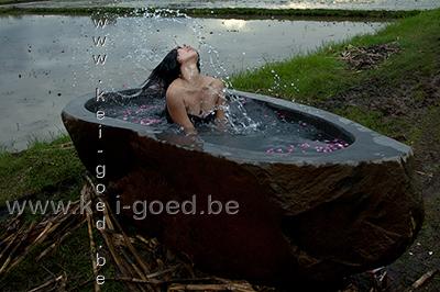 rivierstenen ligbaden