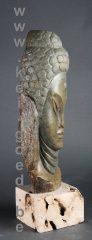 17 rivierstenen boeddha beeld