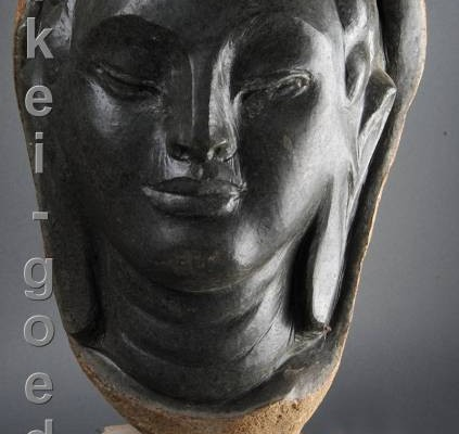 Buddha-Statue aus Stein