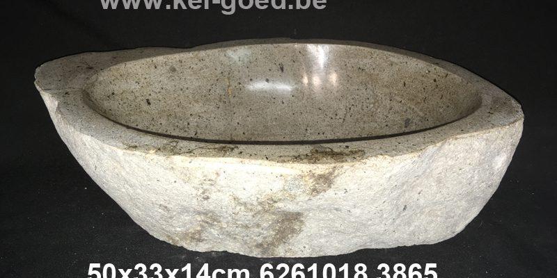 Fluss Stein Waschbecken Granits
