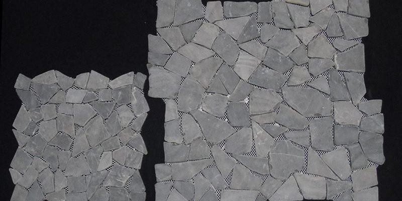 mosaiek tegelmatten gebroken marmer