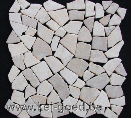 mozaïek tegelmatten gebroken marmer