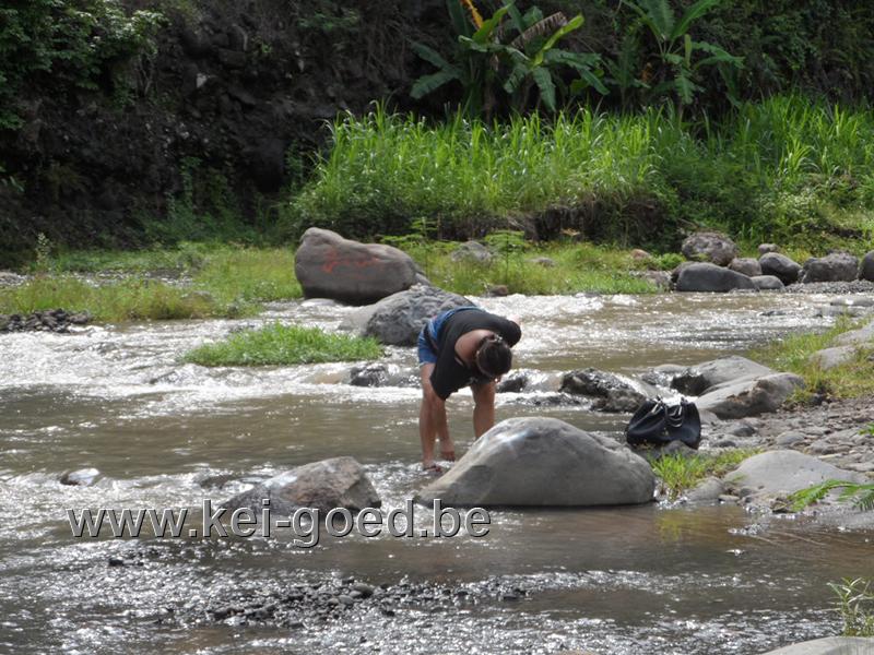 riviersteen verzamelen