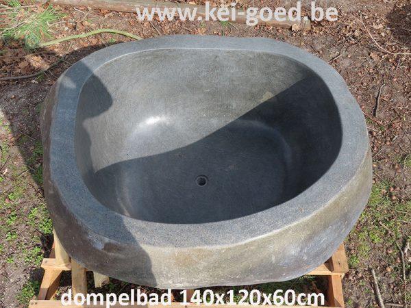 dompelbad natuursteen badkuip