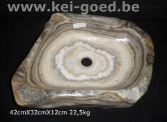 onyx marble stone washtub