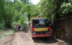 transport van rivierstenen