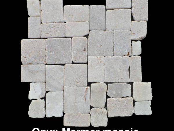 Onyx marmer mozaïek tegelmatten