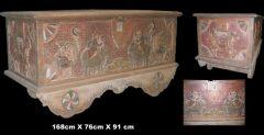 antieke bruidskist