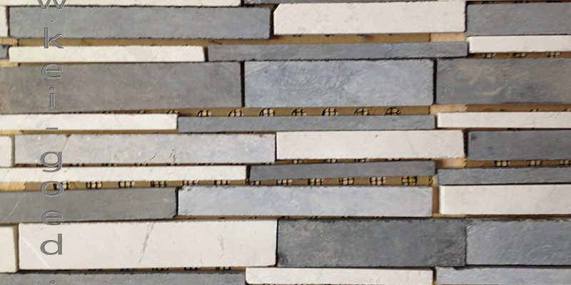 mosaiek marmer strips