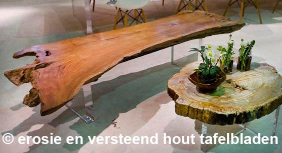 rustiek erosie houten plaat