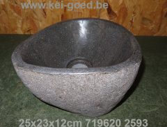 small stone sink