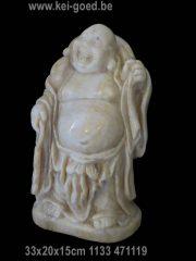 Lachende Boeddha van Onyx marmer