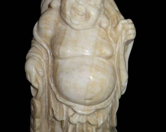 Boeddha aan de wandel marmer