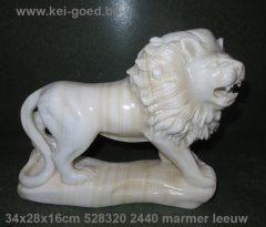leeuw van marmer
