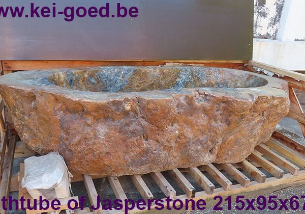 Jasper stone bathtube