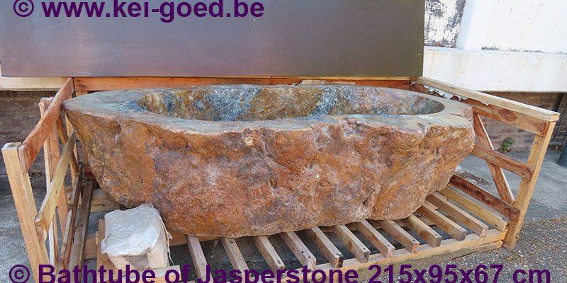 Jasper stone bathtube