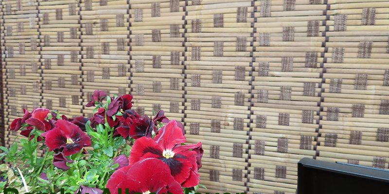 bamboe gordijnen